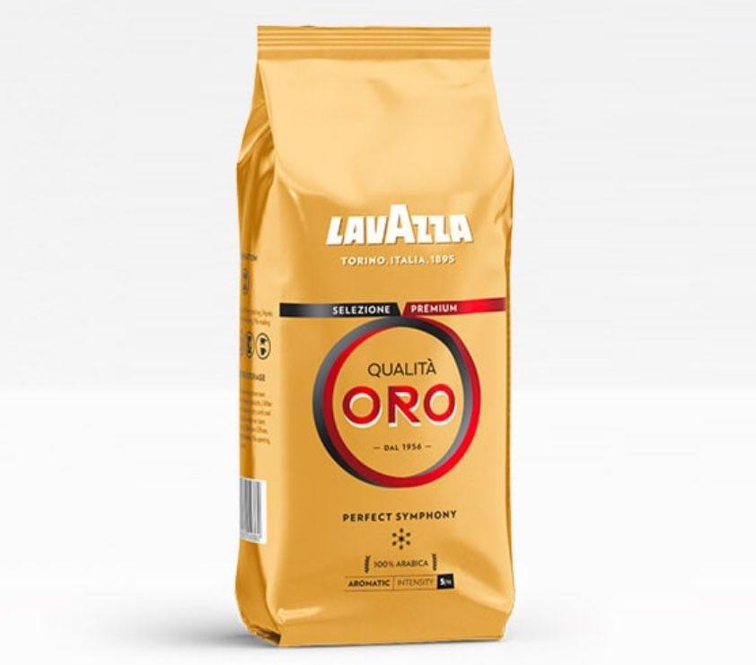 44% Rabatt auf Lavazza Qualità Oro Kaffeebohnen (4,99€ je 500g) + ab 20€ keine VSK