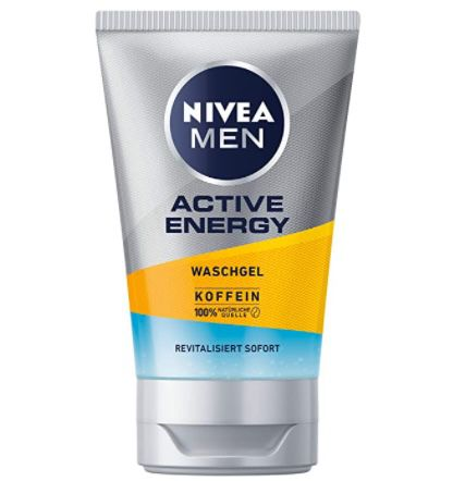 5x NIVEA MEN Active Energy Waschgel (100 ml) für 13,82€ (statt 18€)   Prime Sparabo