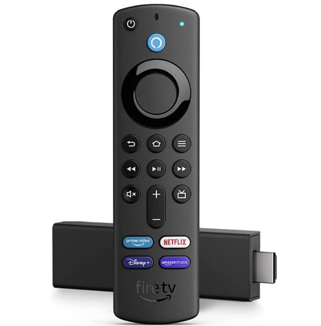 Amazon Fire TV Stick 4K (2021) mit neuer Fernbedienung ab 34,99€(statt 60€)