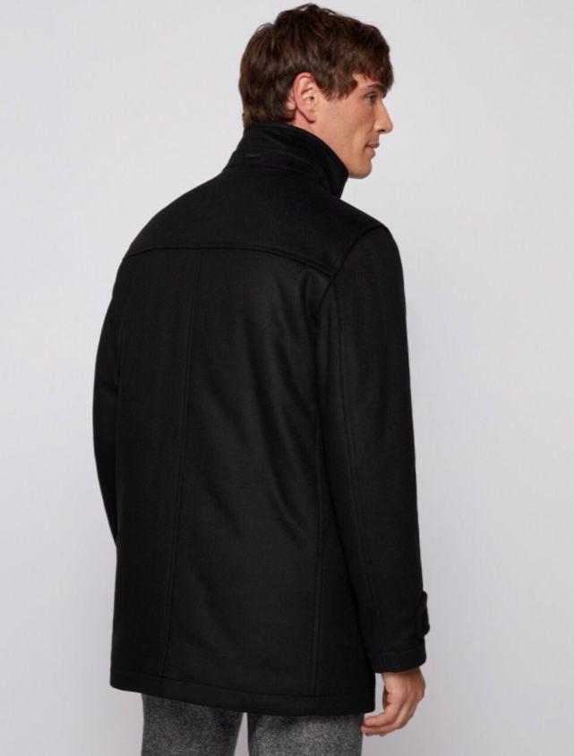 BOSS Herren Mantel COXTAN11 aus hochwertiger Wollmischung für 335,95€(statt 399€)
