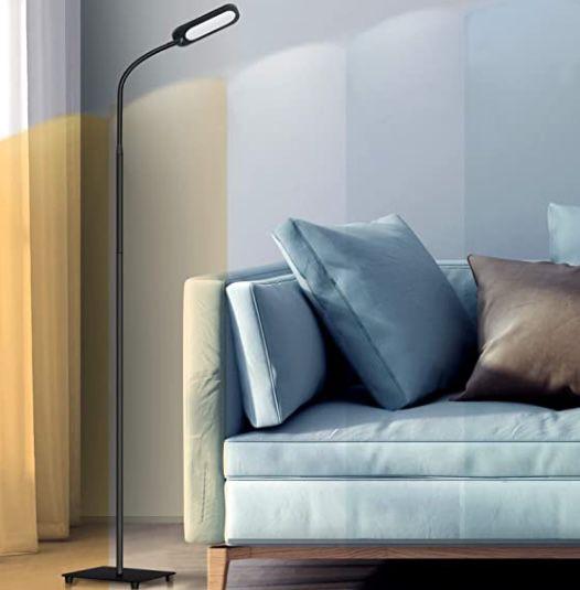 Teckin FL32 LED Stehlampe 12W (dimmbar) mit flexiblem Schwanenhals für 22,99€ (statt 30€)