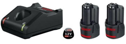 Bosch Starter Set: 2 x GBA 12V 3.0 Ah Akkus + GAL 12V 40 Ladegerät für 69€ (statt 79€)