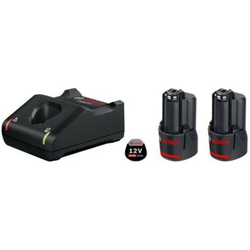 Bosch Starter-Set: 2 x GBA 12V 3.0 Ah Akkus + GAL 12V-40 Ladegerät für 69€ (statt 79€)