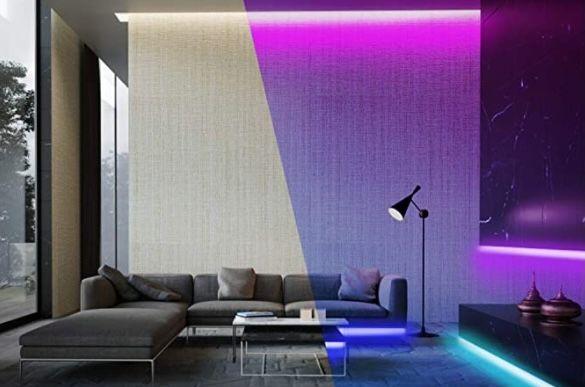 Solmore 5 Meter RGB LED Strip mit Fernbedienung für 7,99€(statt 20€)   Prime