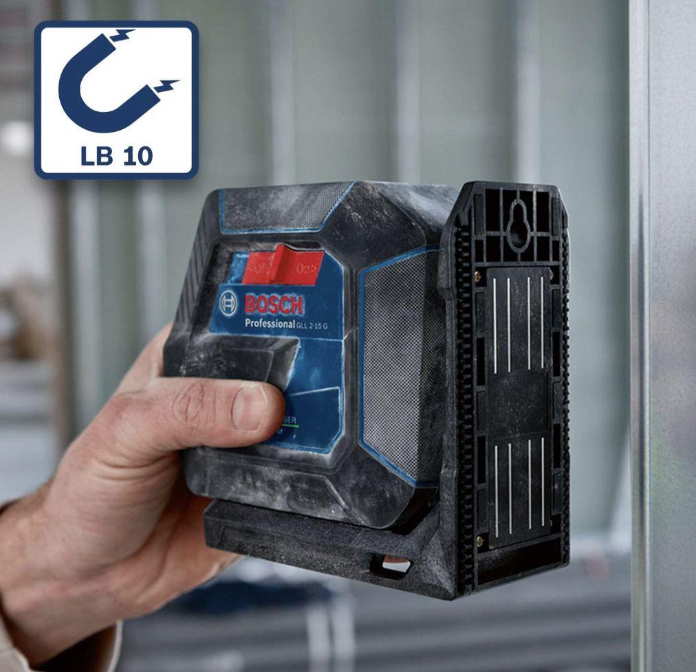 Bosch Professional Linienlaser GLL 2 15 G  inkl. Stativ BT 150 & Zubhehör für 127,86€ (statt 144€)