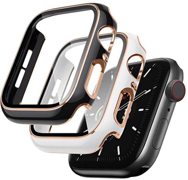 2er Pack SUNFWR Apple Watch Schutzhülle für 3,30€ (statt 11€) – Prime
