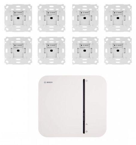 Bosch Smart Home Rollladensteuerung mit 8 Unterputz-Aktoren für 399€ (statt 530€)