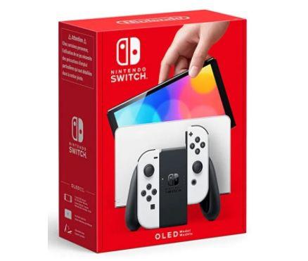 Nintendo Switch OLED in Weiß ab 349,99€ (statt 449€)