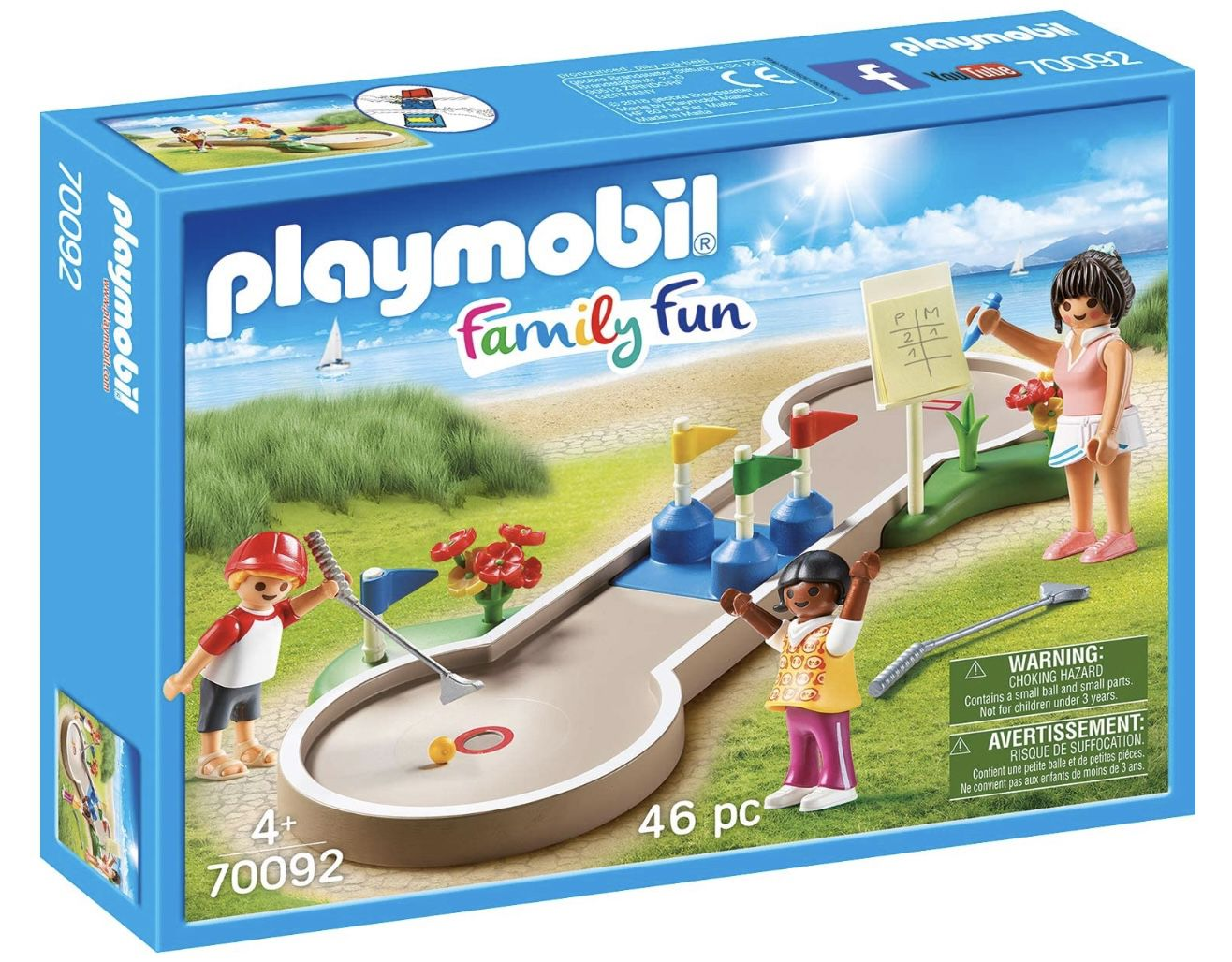 PLAYMOBIL 70092 – Family Fun Minigolf für 6,49€ (statt 11€) – Prime