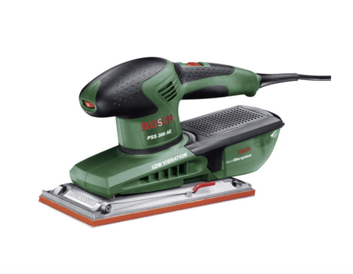 Bosch DIY PSS 300 AE Schwingschleifer mit 250W für 96,14€ (statt 114€)