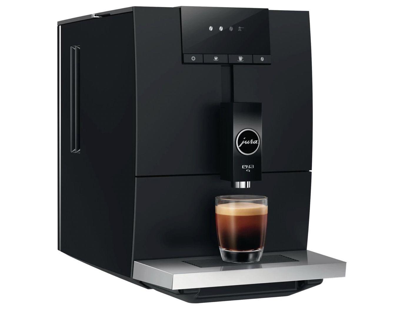 JURA 15344 ENA 4 Kaffeevollautomat Full Metropolitan Black für 485,78€ (statt 569€)
