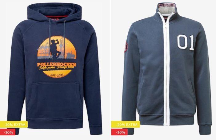 Derbe Sale mit 20% Extra Rabatt   z.B. Trekholm Regenjacke für 103€ (statt 159€)