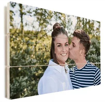 Foto mit eigenem Motiv auf Holz – z.B 20 x 20 cm für 10€ oder 60 x 40 cm für 19,80€