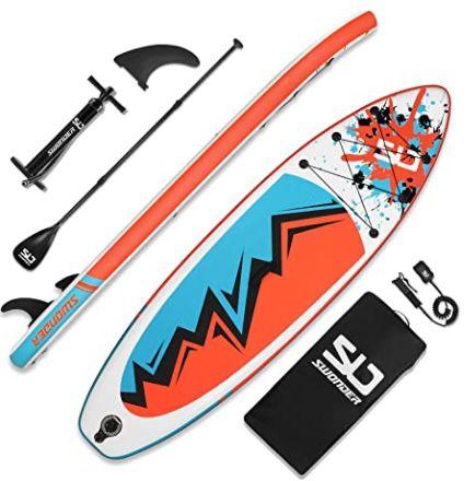 Swonder i-SUP aufblasbares Stand Up Paddle Board für 263,40€ (statt 439€)