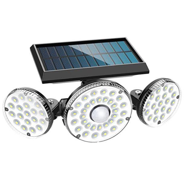Solar-Außenleuchte mit Bewegungsmelder für 13€ (statt 26€) – Prime