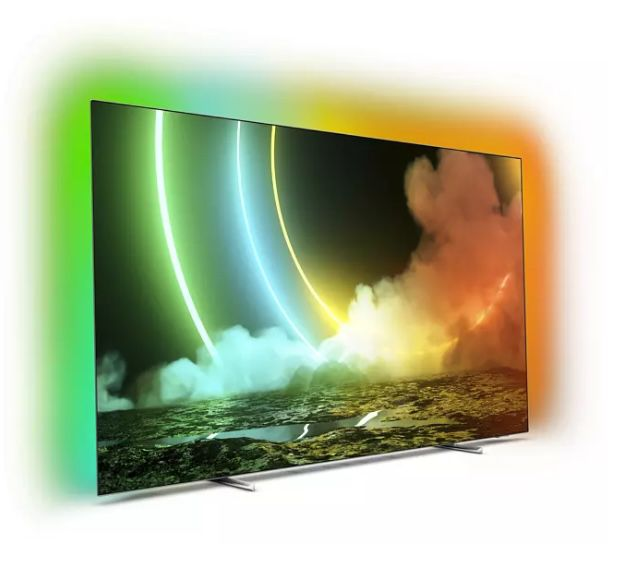 Philips 65OLED706 – 65 Zoll OLED UHD Fernseher mit 3-seitigem Ambilight ab 1.611€ (statt 1.899€)