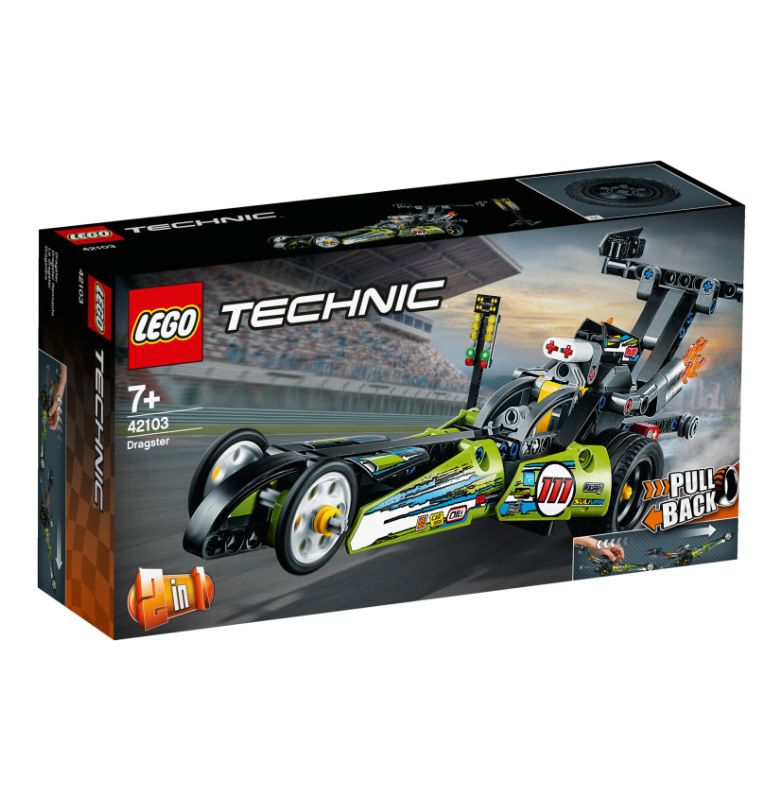 bücher.de: 20% Rabatt auf Spielzeug – z.B. LEGO Technic 42103 Dragster Rennauto für 11,99€ (statt 15€)