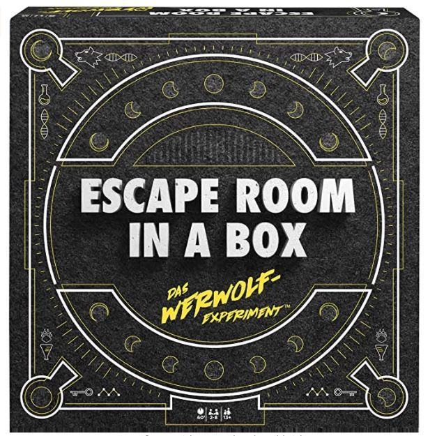 Escape room in a box – Das Werwolf Experiment für 20,98€ (statt 30€) – Prime