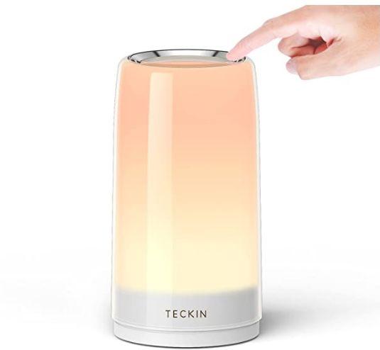 Teckin Touch Tischlampe mit warmweißem Licht für 13,99€ (statt 20€) – Prime
