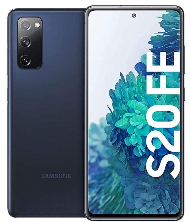 Samsung Galaxy S20 FE 128GB 4G in Blau für 374,13€ (statt 460€)