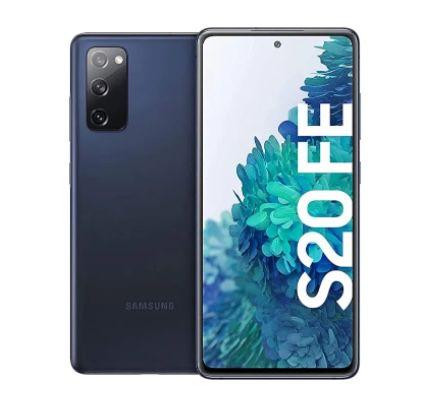 Samsung Galaxy S20 FE 128GB (Snapdragon Modell) in Blau für 374,13€ (statt 460€)