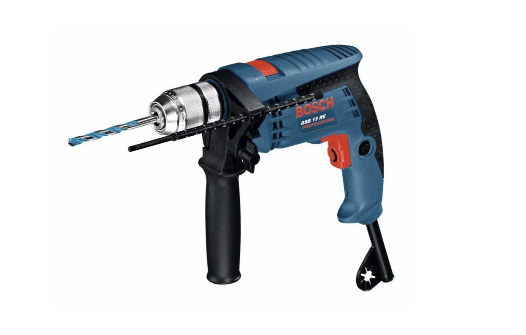 Bosch Professional Schlagbohrmaschine GSB 13 RE mit 600 Watt für 43,99€ (statt 53€)