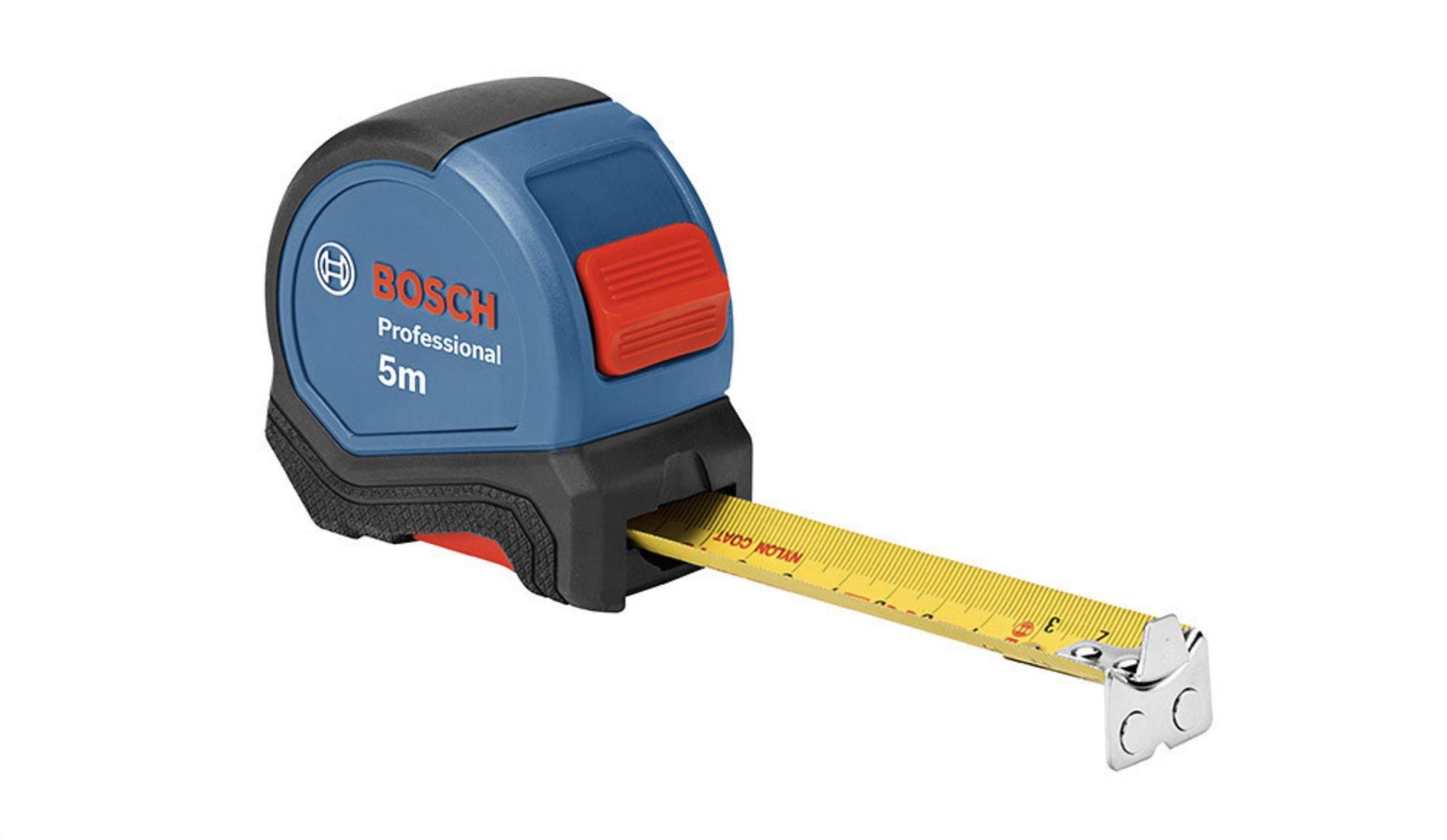 Bosch Professional 5m-Maßband mit Magnethaken für 17,99€ (statt 25€) – Prime