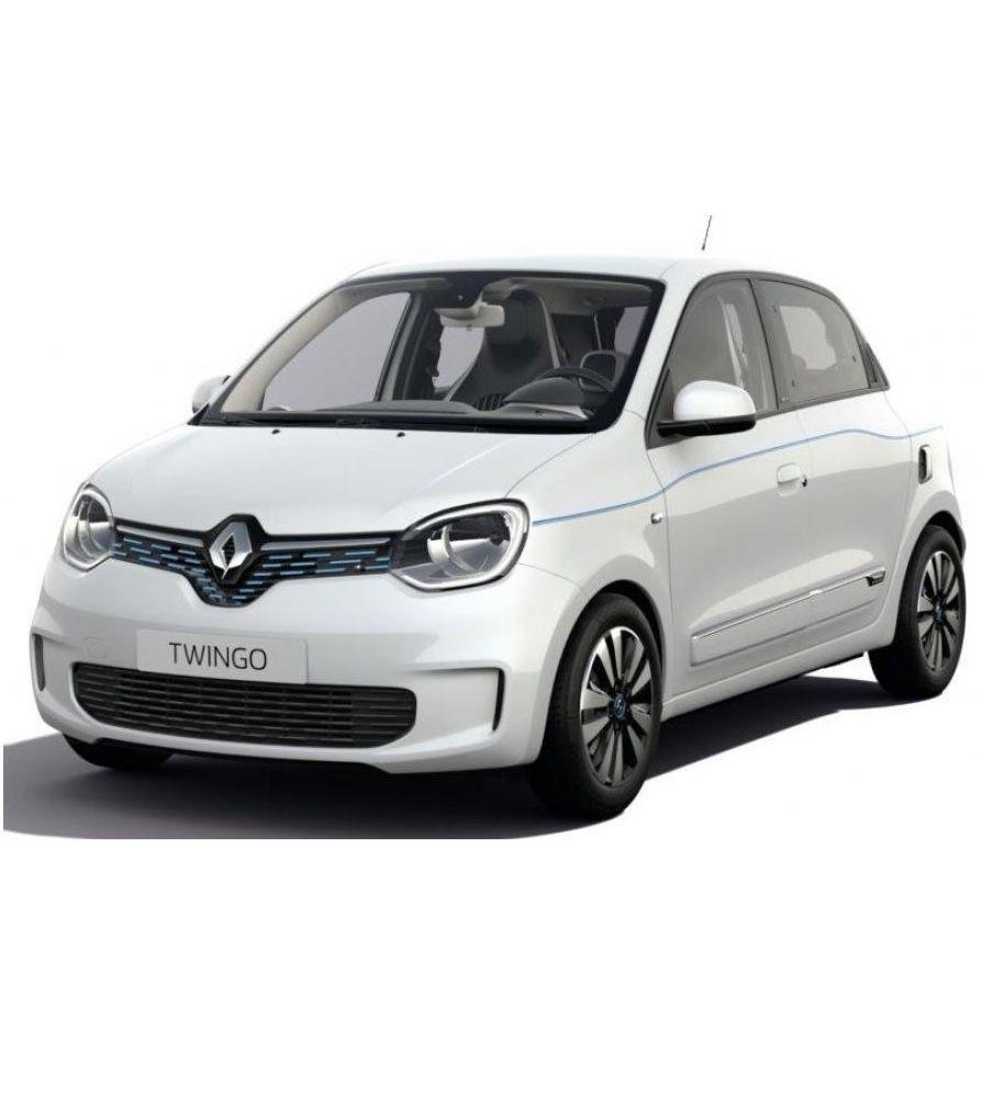 Gewerbe im Gesundheits- und Sozialwesen: Renault Twingo Electric Zen mit 82 PS für 33,45€ mtl. netto