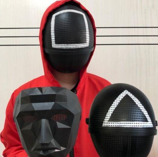 Halloween: 4er Set Squid Game Masken für 37,95€ (statt 49€)