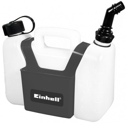 Einhell Kombi-Kanister (3L Benzin, 1,25L Öl) mit integrierter Werkzeugtasche für 6,99€ (statt 15€)