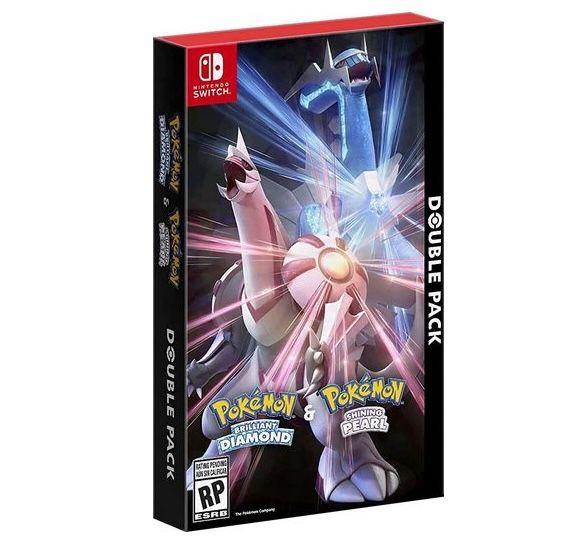 Nintendo Switch: Pokemon Strahlender Diamant + Leuchtende Perle für 91€ (statt 105€)