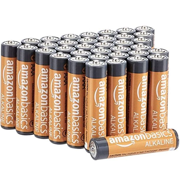 36er Pack Amazon Basics AAA-Alkalibatterien 1,5V ab 5,67€ – nur 16 Cent pro Stück!