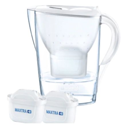 BRITA Wasserfilter Marella inkl. 2x MAXTRA+ Filter für 13,94€ (statt 20€)