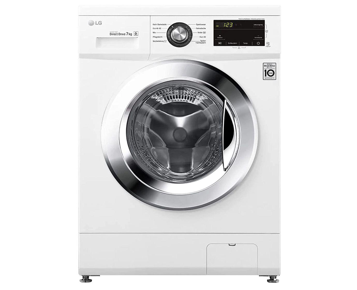 LG F1496QD3HT1 Waschmaschine 1400 U/Min 7 kg für 332,10€ (statt 389€)
