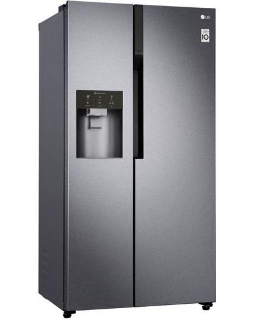 LG GSL 361 ICEZ Side-by-Side Kühlkombi mit Wasser- u. Eisspender für 799€ (statt 909€)