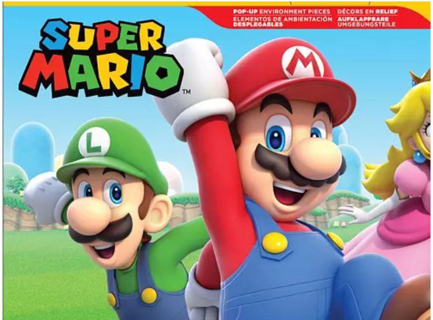 Adventskalender Super Mario & Co. mit goldenen Mario ab 39,99€ (statt 70€?)
