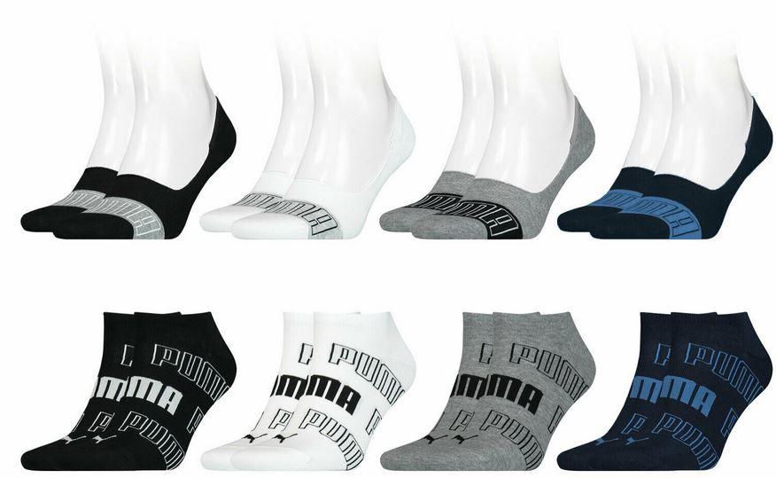 PUMA Footies, Quarter u. Sneaker Socken Damen & Herren 16 Paar für 27,99€ (statt 33€)