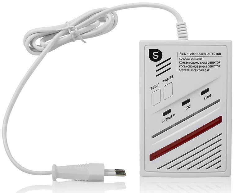 Smartwares Kombi Gas Detektor für 24,99€ (statt 41€)