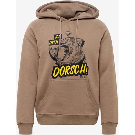 """Derbe """"Dorsch"""" Herren-Sweatshirt in hellbraun für 51,92€ (statt 80€)"""