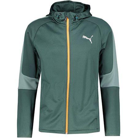 Puma Evostripe Slim Fit – Herren-Trainingsjacke in Petrol für 61,72€ (statt 75€)