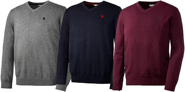 U.S. POLO ASSN. Baumwoll Pullover für Herren in 5 Farben für 31,19€ (statt 70€)