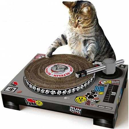 DJ Deck – Katzen-Kratzmatte als DJ-Pult für 22,48€ (statt 27€)