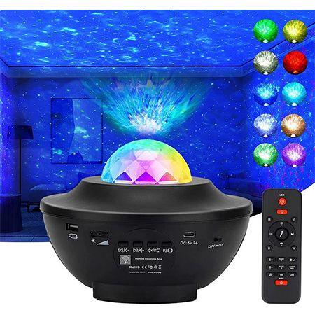Jagdag LED Sternenhimmel Projektor mit Fernbedienung für 19,79€ (statt 33€)