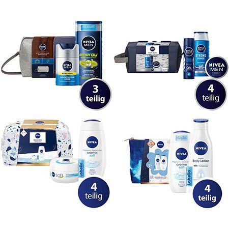 Nivea Geschenksets – 4 Verschiedene zur Auswahl für je 9,34€ (statt 14-16€)