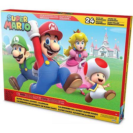 Jakks Pacific – Super Mario Adventskalender 2021 ab 39,99€ (statt 50€)