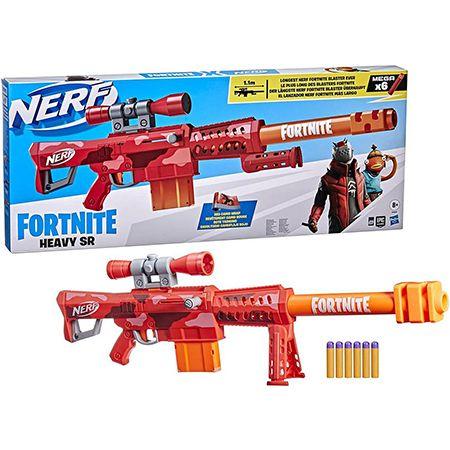 Nerf Fortnite Heavy SR Blaster mit 6 Darts für 54,98€ (statt 62€)