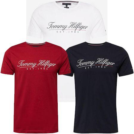 Tommy Hilfiger T-Shirt in drei Farben für je 35,92€ (statt 45€)