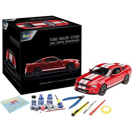 Revell 01031 Adventskalender – Ford Shelby GT im Maßstab 1:25 für 22,05€ (statt 39€)