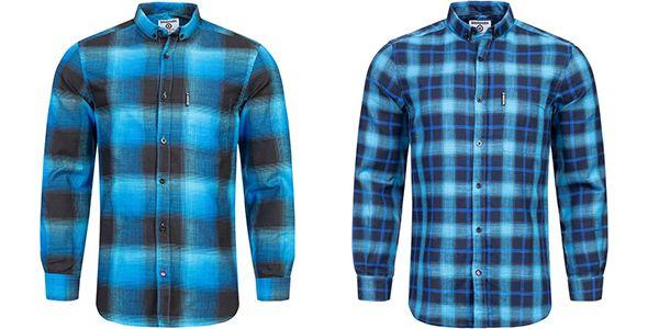 Lambretta   Herren Freizeit Langarmhemd in 5 verschiedenen Farben ab 11,99€ (statt 25€)
