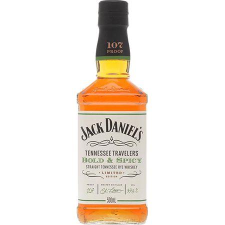 Jack Daniel's Tennessee Travelers Bold & Spicy 53.5% 0.5L für 34,85€ (statt 60€)
